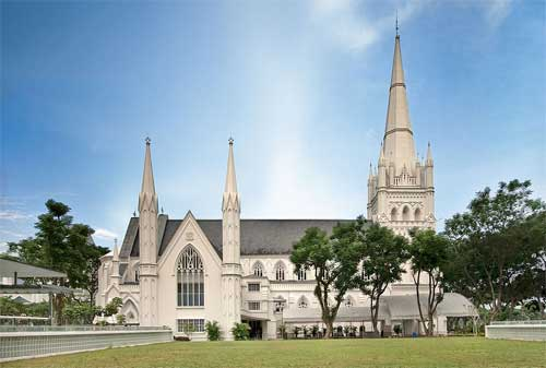 Tempat Wisata di Singapura 03 St. Andrew's Cathedral - Finansialku