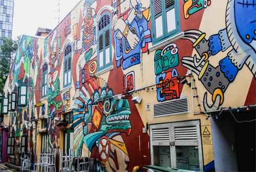 Tempat Wisata di Singapura 04 Arab Street - Finansialku