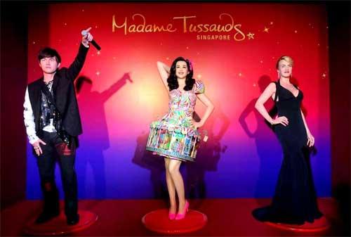 Tempat Wisata di Singapura 05 Museum Madame Tussauds - Finansialku