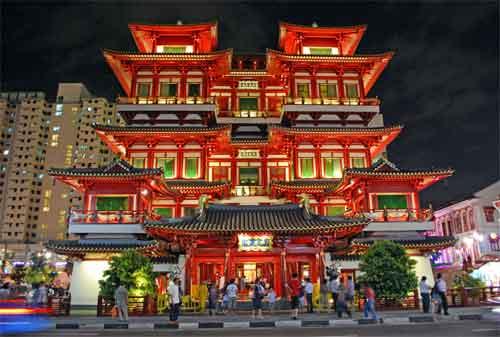 Tempat Wisata di Singapura 10 Buddha Tooth Relic Temple and Museum - Finansialku