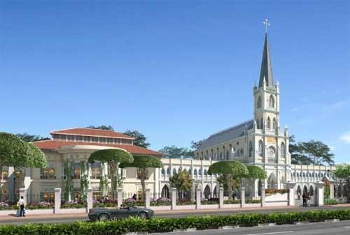Tempat Wisata di Singapura 11 Chijmes - Finansialku