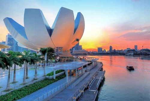 Tempat Wisata di Singapura 12 Art Science Museum - Finansialku