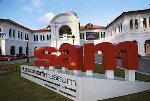 Tempat Wisata di Singapura 14 Singapore Art Museum - Finansialku