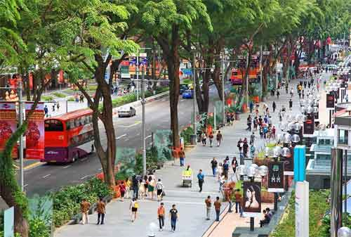 Tempat Wisata di Singapura 15 Orchard Road - Finansialku