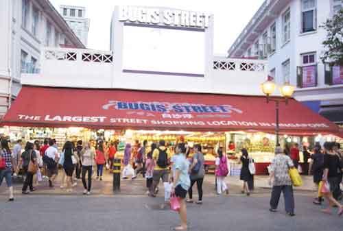 Tempat Wisata di Singapura 17 Bugis Street - Finansialku