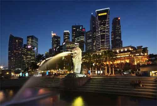 Tempat Wisata di Singapura 21 Merlion Park - Finansialku