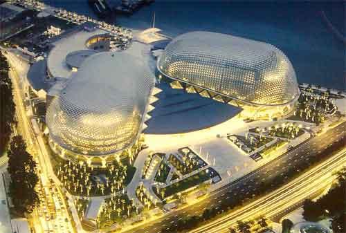 Tempat Wisata di Singapura 23 Esplanade - Finansialku