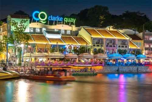 Tempat Wisata di Singapura 29 Clarke Quay - Finansialku