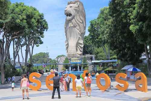 Tempat Wisata di Singapura 36 Sentosa Island - Finansialku