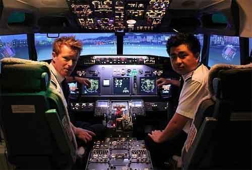 Tempat Wisata di Singapura 44 SG Flight Simulation Orchard - Finansialku