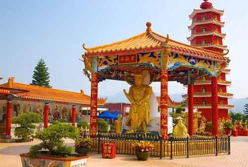 Wisata Hong Kong 02 Ten Thousand Buddhas Monastery - Finansialku