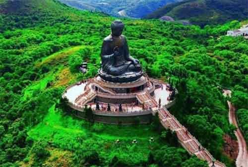 Wisata Hong Kong 04 Patung Tian Tan Buddha - Finansialku