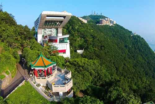 Wisata di Hong Kong 01 Victoria Peak - Finansialku