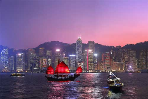 Wisata di Hong Kong 05 Victoria Harbour - Finansialku