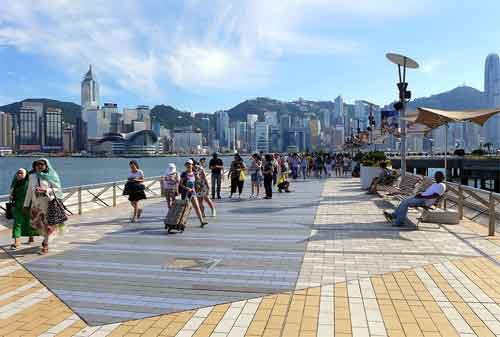Wisata di Hong Kong 06 Avenue of Stars - Finansialku