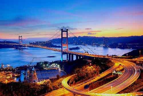 Wisata di Hong Kong 10 Jembatan Tsing Ma - Finansialku