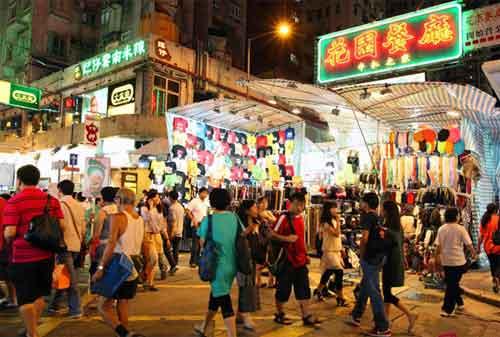Wisata di Hong Kong 15 Ladies Market - Finansialku