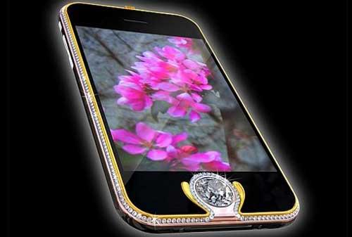 10 HP Termahal Di Dunia 08 iPhone 3G King's Button - Finansialku