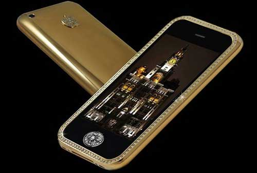 10 HP Termahal Di Dunia 09 Goldsticker iPhone 3G 32GB- Finansialku