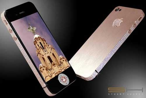 10 HP Termahal Di Dunia 10 Rose iPhone 4 32GB - Finansialku