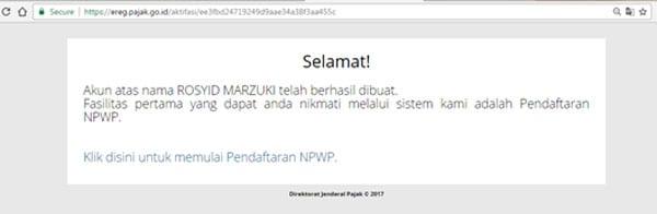 Cara Membuat NPWP Pribadi 10 - Finansialku