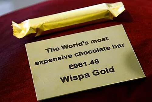 Coklat Termahal di Dunia 5 Wispa Gold Wrapped Chocolate Finansialku