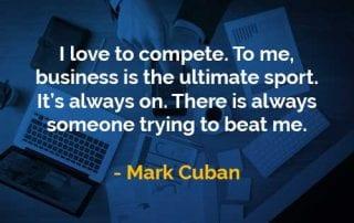 Kata-kata Bijak Mark Cuban Bisnis Adalah Olahraga - Finansialku