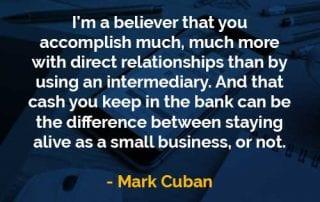 Kata-kata Bijak Mark Cuban Mencapai Lebih Banyak - Finansialku