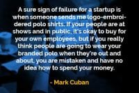 Kata-kata Bijak Mark Cuban Tanda Kegagalan - Finansialku