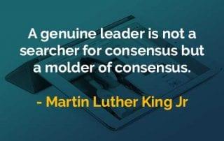 Kata-kata Bijak Martin Luther King, Jr. Pemimpin Sejati - Finansialku