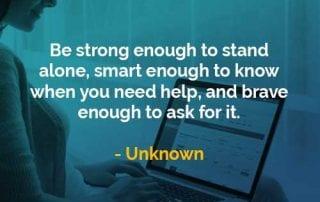 Kata-kata Bijak Unknown Cukup Kuatkan - Finansialku