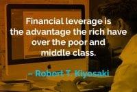 Kata-kata Motivasi Robert T. Kiyosaki Keuntungan yang Dimiliki - Finansialku