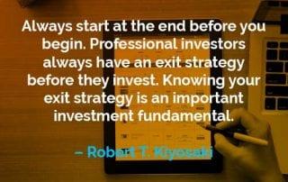 Kata-kata Motivasi Robert T. Kiyosaki Memulai dari Akhir - Finansialku