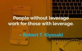Kata-kata Motivasi Robert T. Kiyosaki Pekerjaan Pengungkit - Finansialku