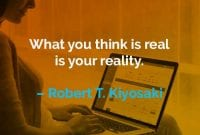 Kata-kata Motivasi Robert T. Kiyosaki Realitas Anda - Finansialku
