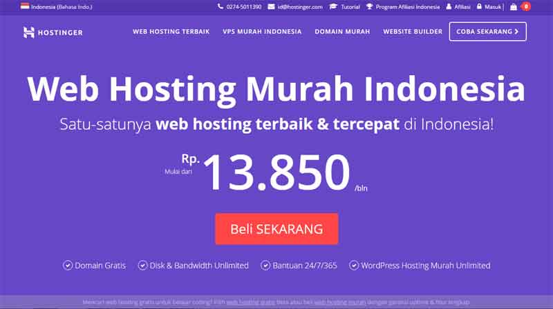Web Hosting Indonesia 02 - Finansialku