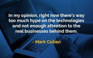 Kata-kata Bijak Mark Cuban Bisnis Nyata - Finansialku