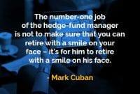 Kata-kata Bijak Mark Cuban Manajer Hedge Fund - Finansialku