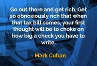 Kata-kata Bijak Mark Cuban Pergi Ke Sana dan Menjadi Kaya - Finansialku