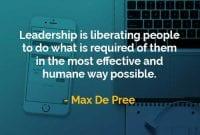 Kata-kata Bijak Max DePree Kepemimpinan Adalah Membebaskan Orang - Finansialku