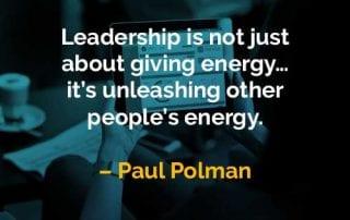 Kata-kata Bijak Paul Polman Tentang Memberikan Energi - Finansialku