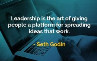 Kata-kata Bijak Seth Godin Kepemimpinan Adalah Seni - Finansialku