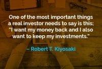 Kata-kata Motivasi Robert T. Kiyosaki Hal Terpenting yang Perlu Investor Katakan - Finansialku