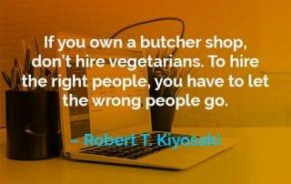 Kata-kata Motivasi Robert T. Kiyosaki Memiliki Toko Daging - Finansialku