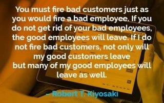 Kata-kata Motivasi Robert T. Kiyosaki Pelanggan yang Buruk - Finansialku