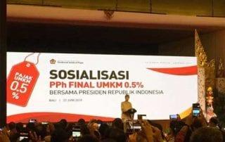 PPh Final Tarif Pajak Baru UMKM 2 Finansialku