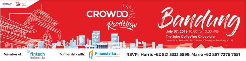 Crowdo Roadshow Bandung