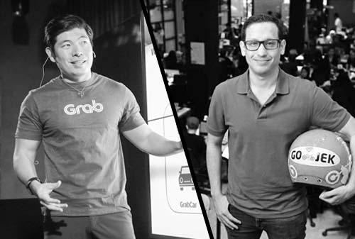 Grab dan Gojek Berlomba Kuasai Asia Tenggara