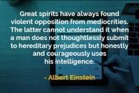 Kata-kata Bijak Albert Einstein Semangat yang Besar - Finansialku