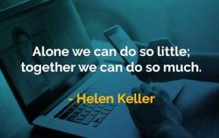 Kata-kata Bijak Helen Keller Melakukan Banyak Hal - Finansialku